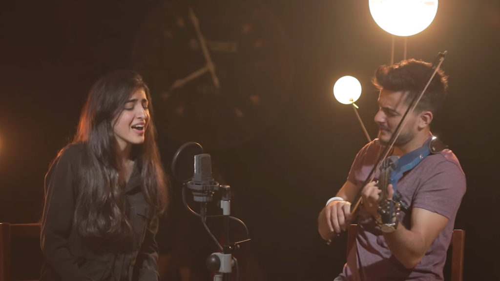 Luciana Zogbi and Andre Soueid zombie cover