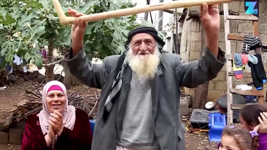 Suliman Al-Mul is 125-years-old. (YouTube screenshot/First2Know)