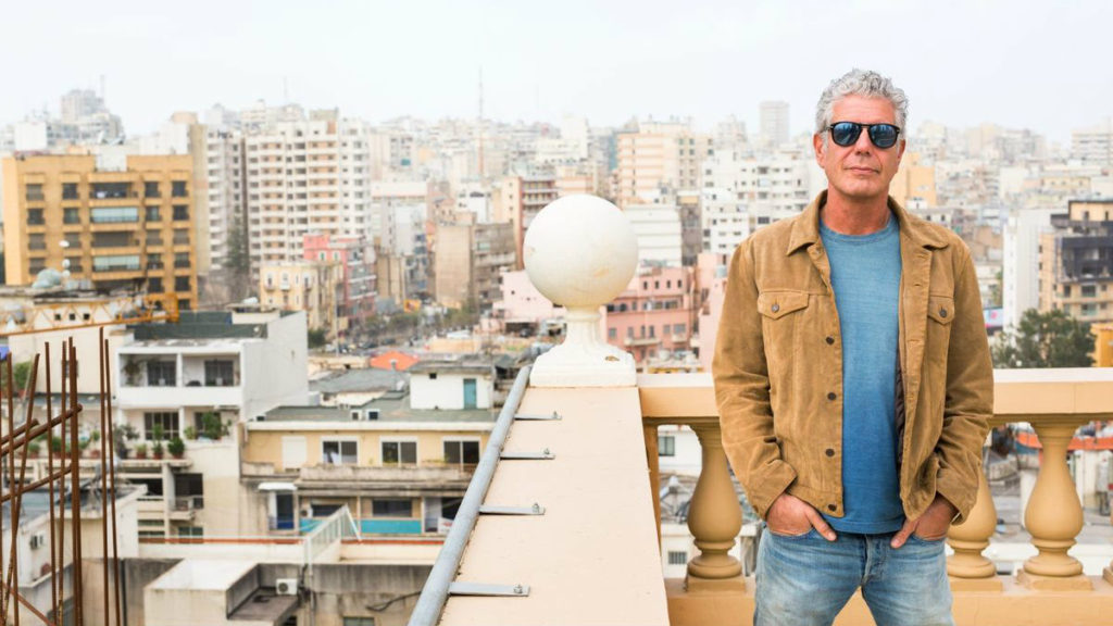 "Anthony Bourdain said he ""fell in love with Beirut."" (CNN)"