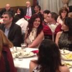 Rene and Jihane Eid exchange a friendly laugh with Eliana Malouf.