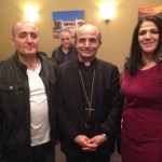 Bishop A. Elias Zaidan poses with invited guests.