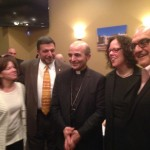Over 100 invited guests attended the private dinner hosted in honor of Bishop A. Elias Zaidan and Lebanese Forces USA Coordinator Maurice Daaboul.