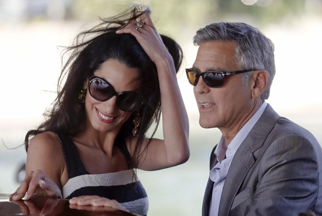 11APTOPIX+Italy+Clooney+Wedding