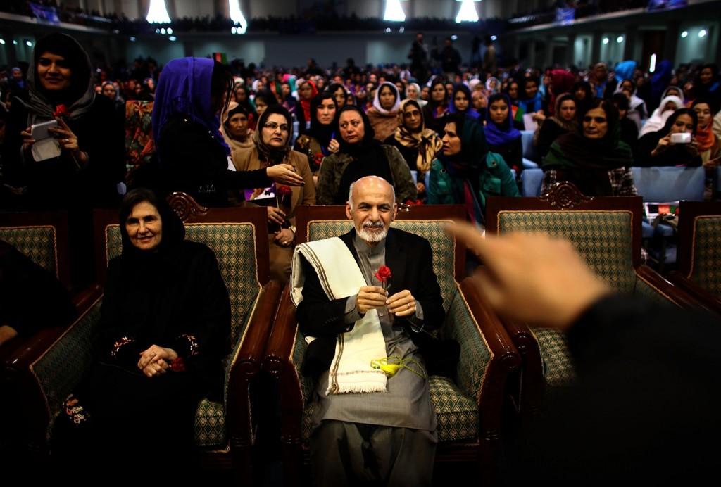 PHOTO: Rula Saade Ghani is Afghanistan's new Lebanese Christian first lady.