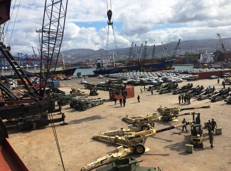 The latest military donation to Lebanon comes just one month after the U.S. delivered dozens of armored Humvees to the Lebanese Army. (Photo © U.S. Embassy Beirut)
