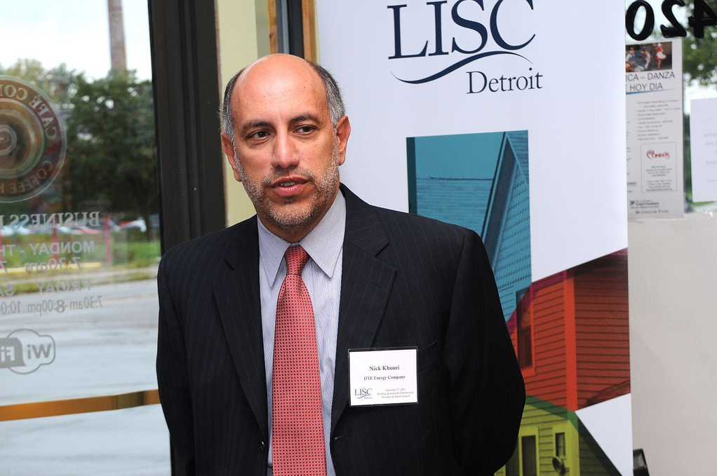 Lebanese-American businessman Nick Khouri was named Michigan's new state treasurer by Governor Rick Snyder. (Photo courtesy Detroit Local Initiatives Support Corporation)