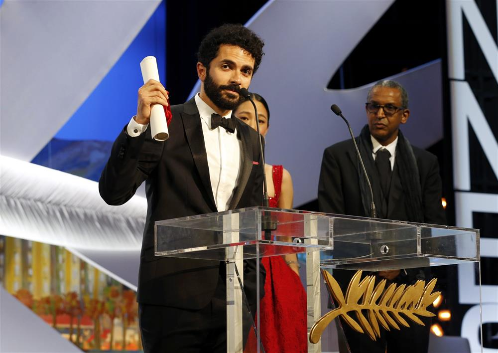"Lebanese filmmaker Ely Dagher was awarded a Palme d'Or prize in the short film category at the Cannes Film Festival for his project, ""Waves '98."" (Getty Images)"