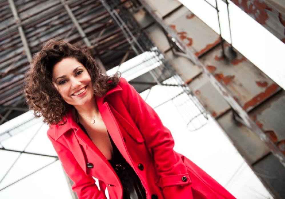 Lebanese-Canadian opera soprano Miriam Khalil sang the first Arabic version of 'O Canada' recently. (Photo via Nikola Novak/ Miriam Khalil)
