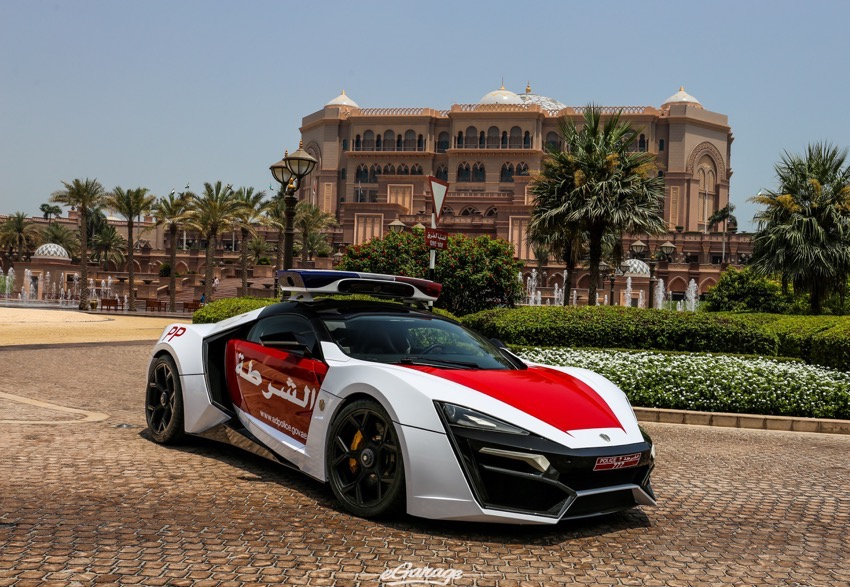 Abu Dhabi police has purchased the Lykan HyperSport from Lebanese company W. Motors. The ultra-rare supercar is worth $3.4 million, and was featured in the film 'Furious 7.' (Photo: GTSpirit.com)