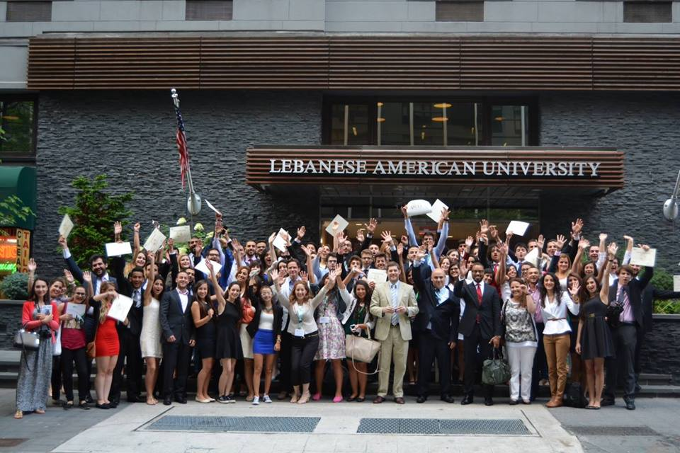 "In August 2014, LAU's Outreach and Civic Engagement unit organized a five-day conference entitled ""Global Outreach and Leadership Development"" (GOLD), which was held at LAU's Headquarters and Academic Center in New York. (Photo via Hariri High School II)"