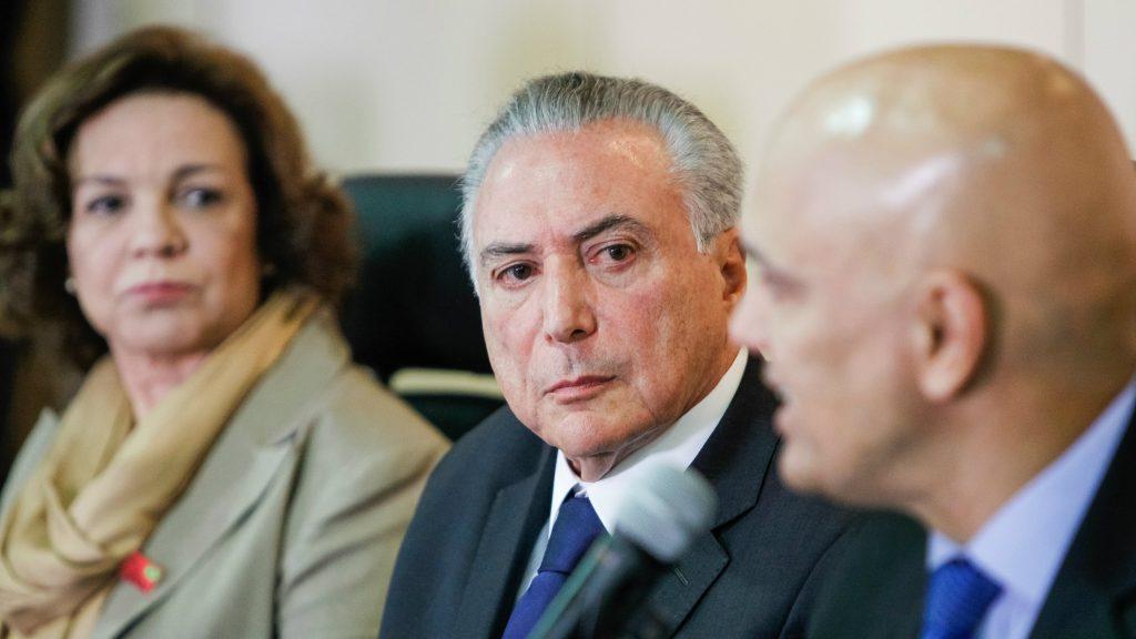 Michel Temer Lebanese Lebanon President of Brazil Corruption Probe Allegations
