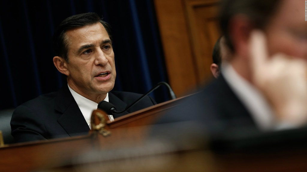 Lebanese-American Congressman Darrell Issa (R-Calif.) announced he would not seek re-election in January. (File photo)