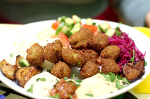 vegan lebanese falafel