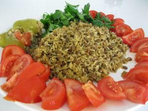 vegan lebanese mujadara vegan rice and lentil