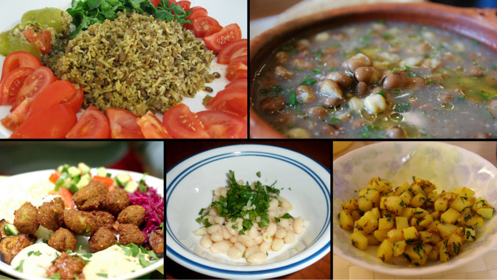 vegan recipes lebanese mediterranean food
