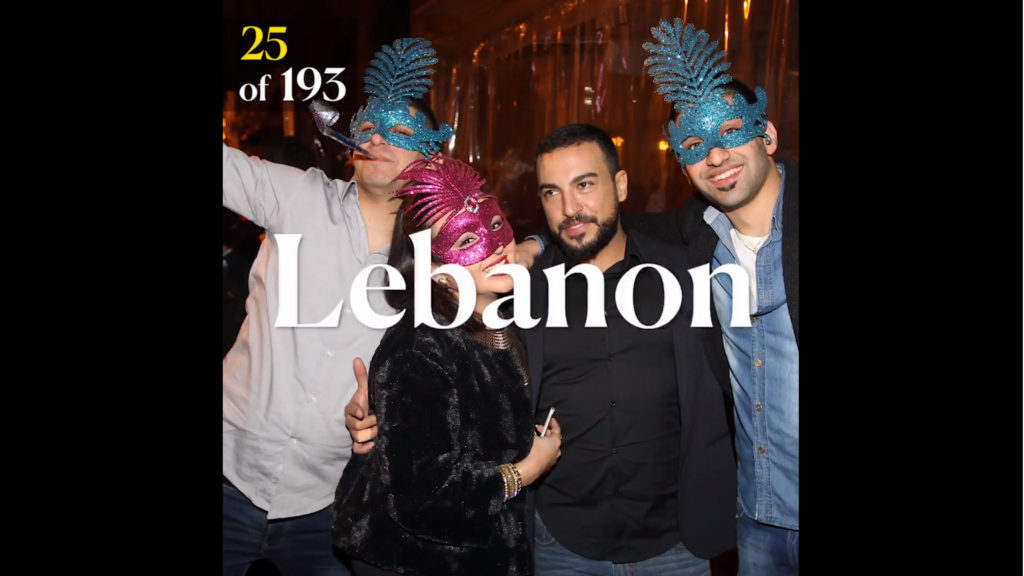 Lebanon best party place Sal Lavallo
