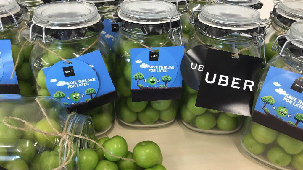uber delivers janerik plums in beirut lebanon