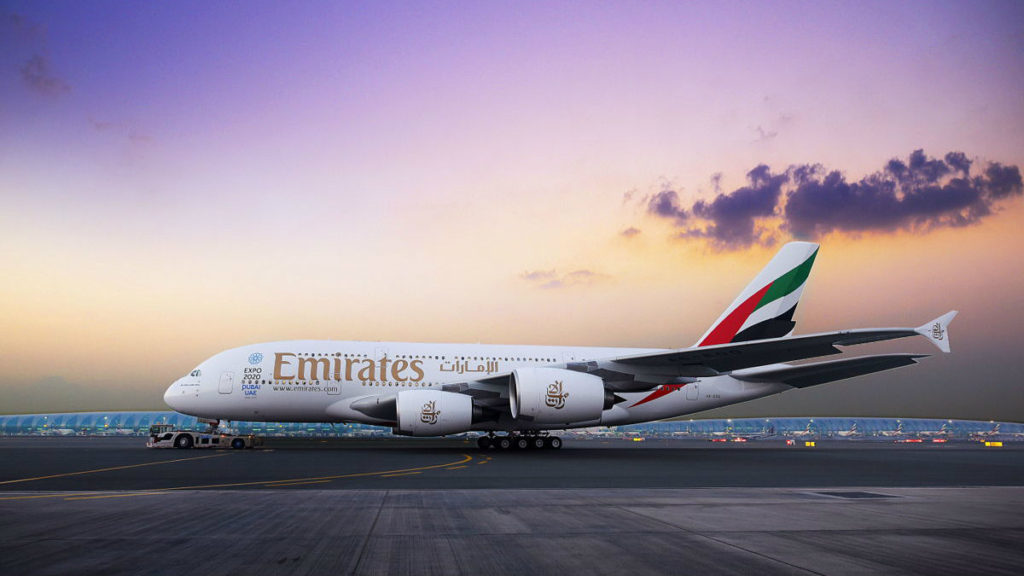Emirates A380 made its first landing in Beirut this year (Emirates Media centre)