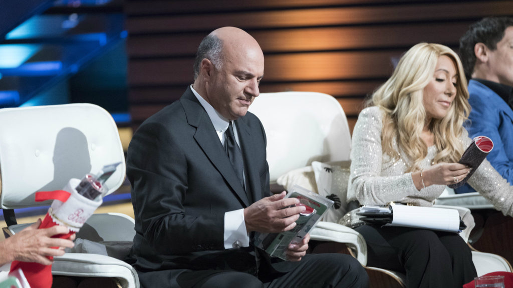 Kevin O'Leary on the set of the ABC series Shark Tank. (Disney ABC Press)
