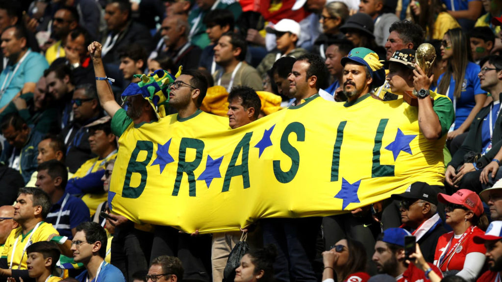 Brazil supporters at the World Cup. (File photo)
