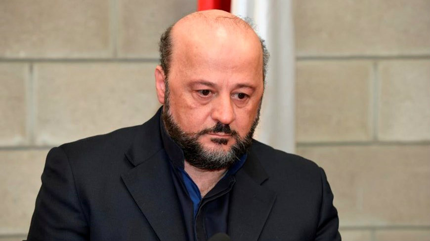 Lebanese Information Minister Melhem Riachy. (Photo provided/NDU)