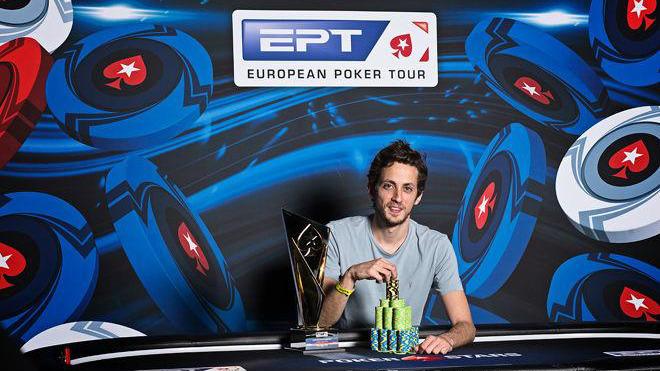 Albert Daher was the €25,000 High Roller Winner (pokernews.com)