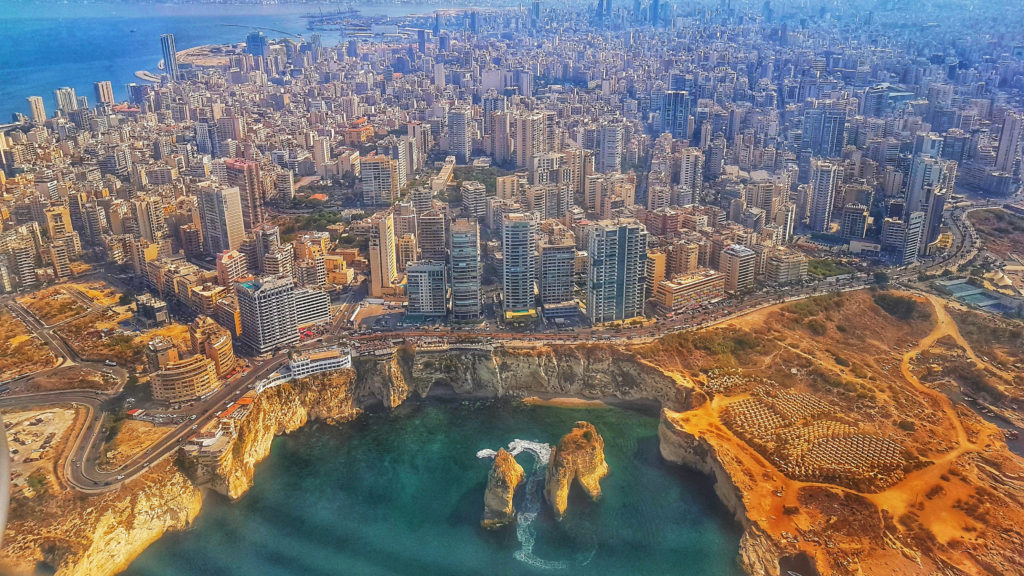 Beirut was named in the world's top 15 cities