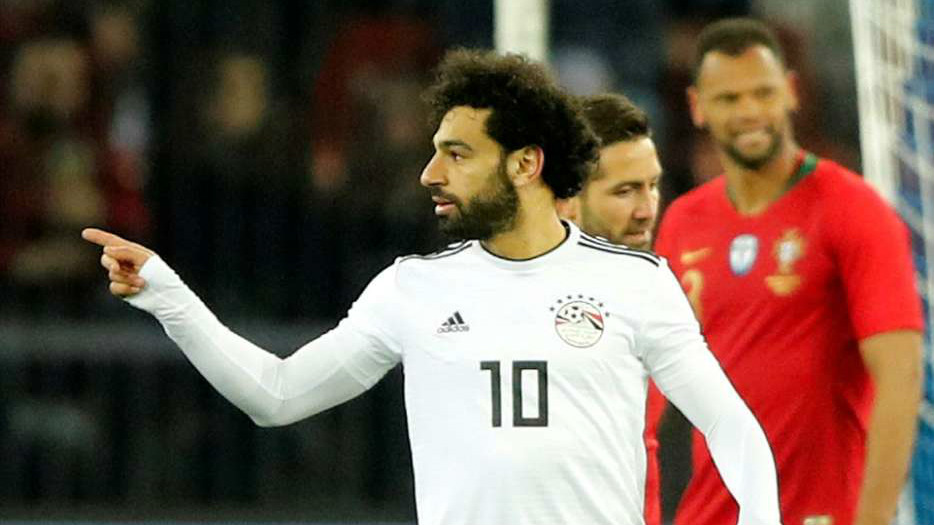 Mohamed Salah Egypt Russia world cup