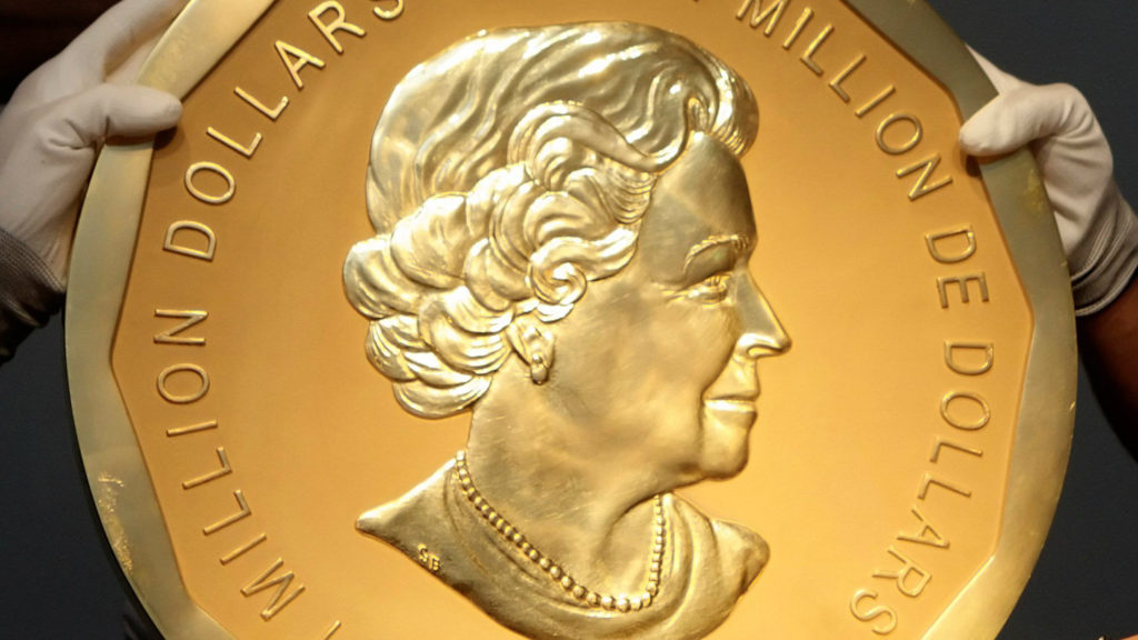 A Lebanese family is accused of stealing a gold coin valued at $4.3 million. (File photo)