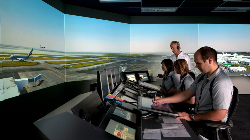 In July, airport officials announced a deal to bring advanced simulation technology from New Zealand to Beirut's air traffic control tower. (Airways New Zealand)