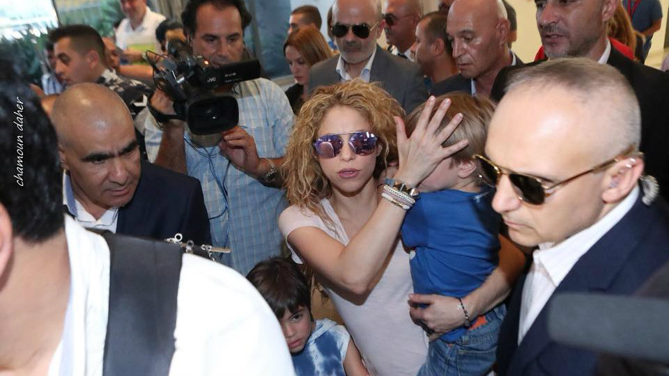 shakira arrives in beirut lebanon 5