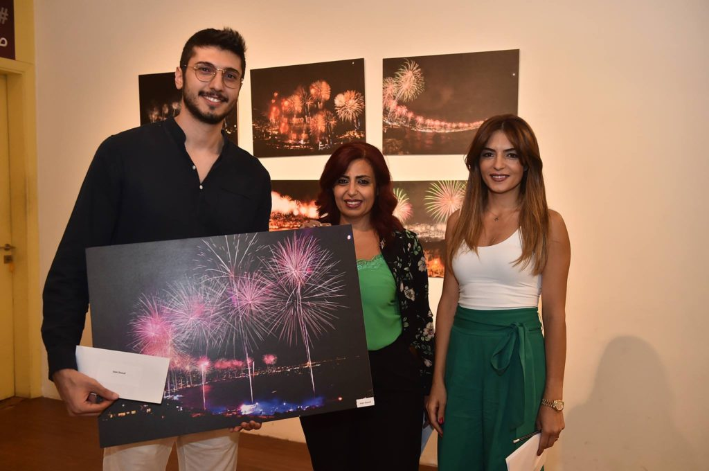 Jean Daoud won fifth place in the Jounieh fireworks photo contest. (Jounieh International Fireworks)
