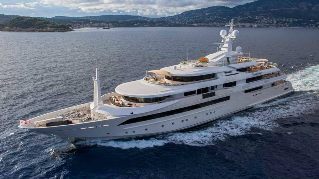 Chopi Chopi was built in Ancona, a city and a seaport in the Marche region in central Italy. (CRN Yachts)