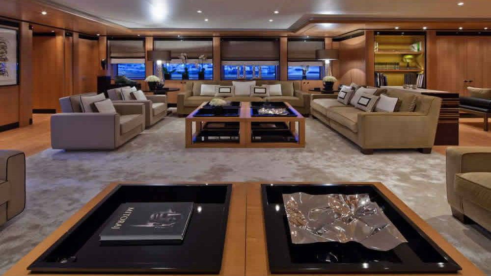 Chopi Chopi features an entire deck for the owner. (CRN Yachts)