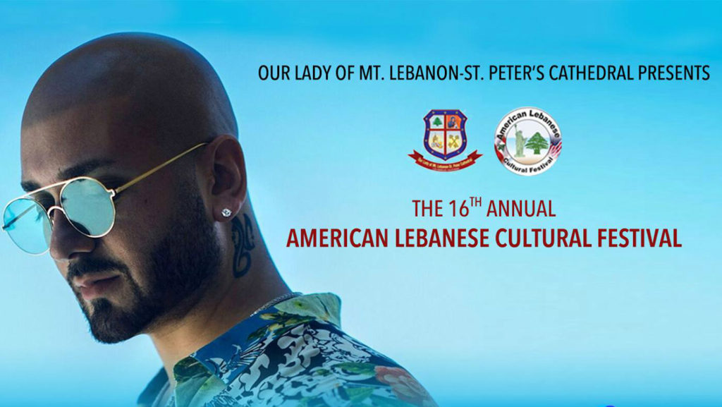 The festival will take place on August 25th and will feature musical performances by Massari and Fidel Fayad (Facebook screen grab)
