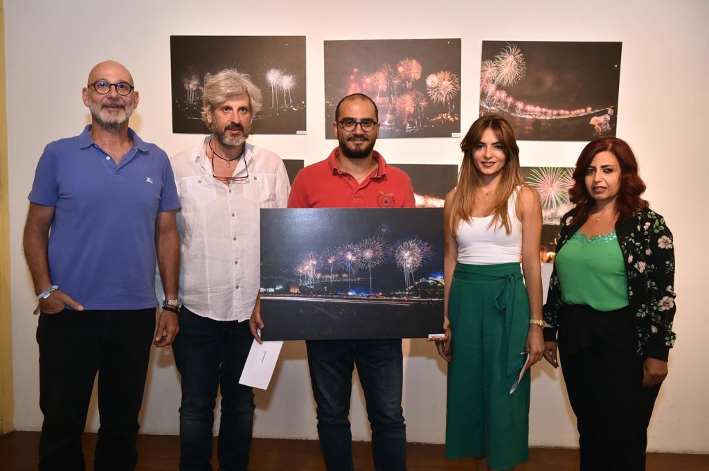 Bachir Mouawad won first place in the Jounieh fireworks photo contest. (Jounieh International Fireworks)