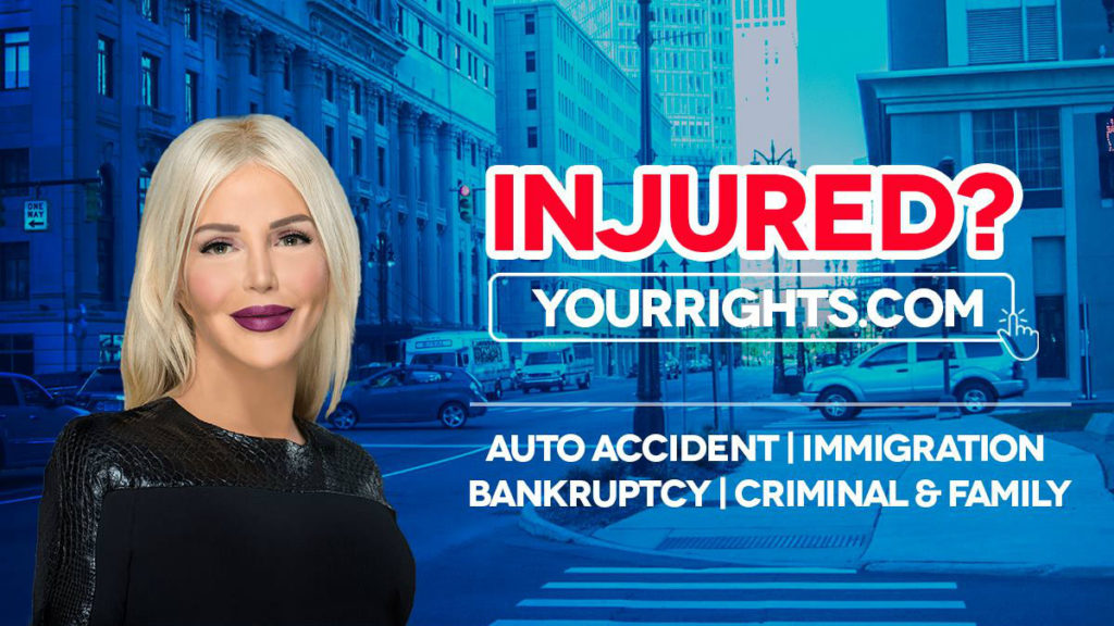 Attorney Joumana Kayrouz is best known for her signature billboard advertisements in metro Detroit. (Law Offices of Joumana Kayrouz)