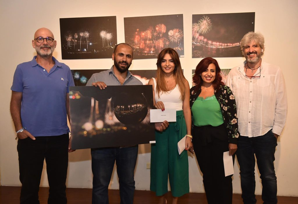 Georges Samaha won second place in the Jounieh fireworks photo contest. (Jounieh International Fireworks)