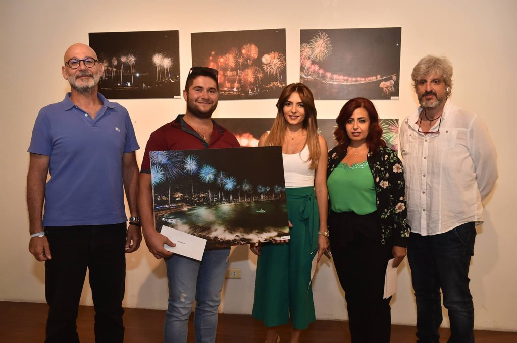 Georges Hanna won third place in the Jounieh fireworks photo contest. (Jounieh International Fireworks)