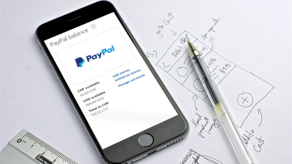 Paypal is a fast, safe way to send money, make an online payment, or receive money, according to the company website. (File photo)