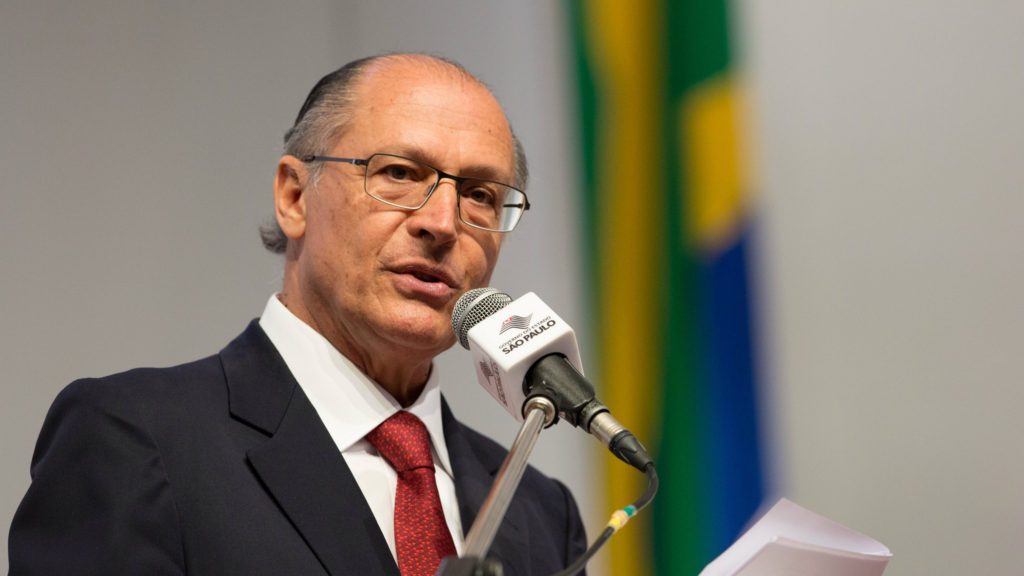 Gerald Alckmin served as the Governor of São Paulo from 2001 to 2006. (File photo)