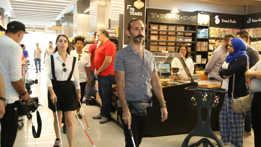Marquet is Lebanon's first 'blind-friendly' supermarket. (Facebook/Red Oak)