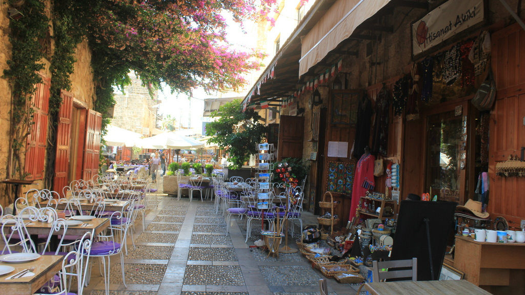 The Old Souq Market in Jbeil, Lebanon is one of the country's top travel destinations. (Lebanese Examiner)