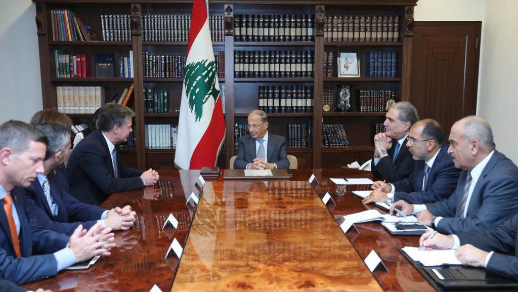 meeting with fbi director lebanon michel aoun 1