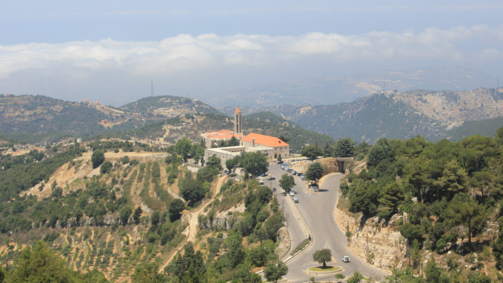 Thousands of tourists from around the world visit St. Sharbel in Annaya, Lebanon annually. (Lebanese Examiner)