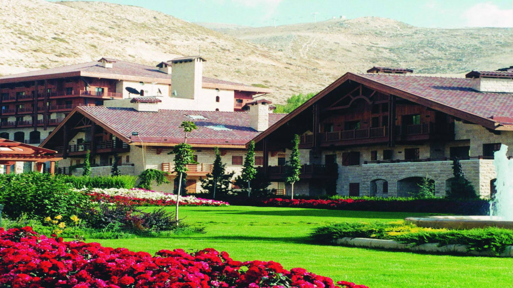 The InterContinental Mzaar Mountain Resort and Spa was named among the world's most scenic mountain resorts. (Facebook/InterContinental Mzaar)