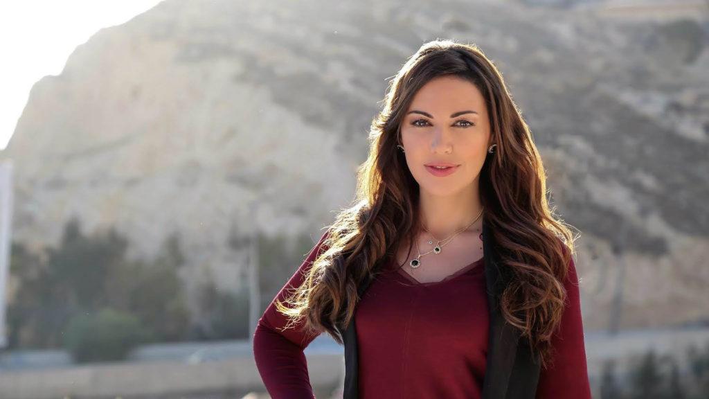 Lebanese actress Darine Hamze 1