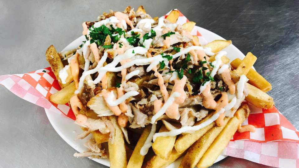 chicken shawarma fries lebanese restaurant