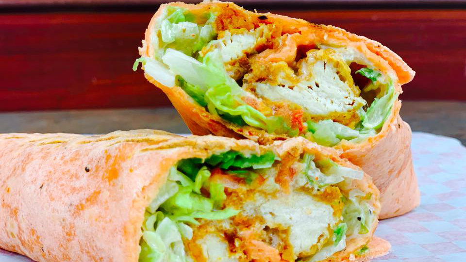 Kabab Village recently started serving a new halal chicken bacon ranch wrap with homemade ranch dressing. (Facebook/Kabab Village Restaurant)